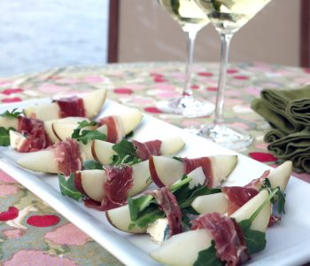 pear+ blue cheese appetizer