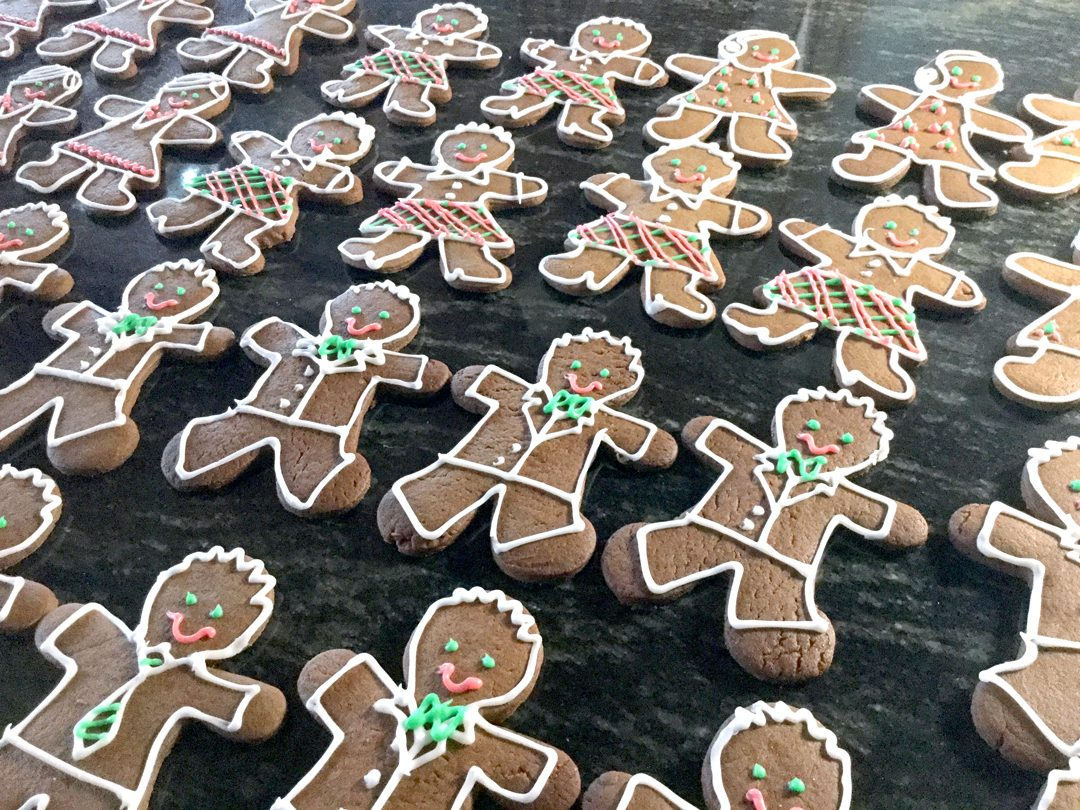 rich gingerbread cookies