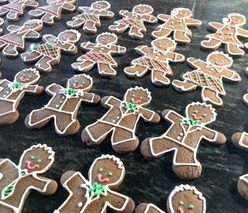 rich gingerbread cookies