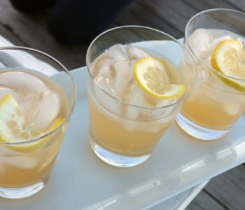 lemon ginger shrub